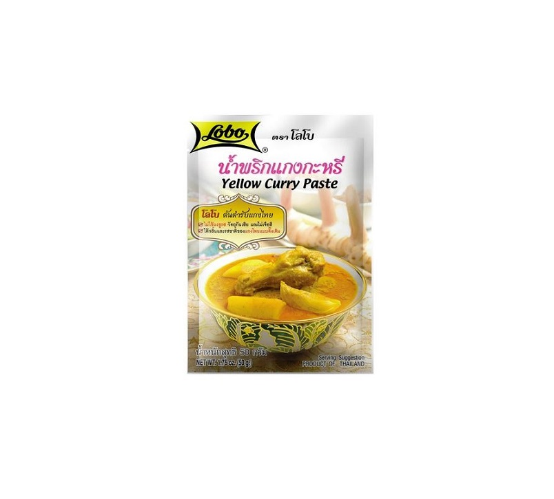 Žlutá kari pasta 50 g