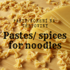 Pasta and spice for noodles