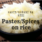 Pastes and spices on rice