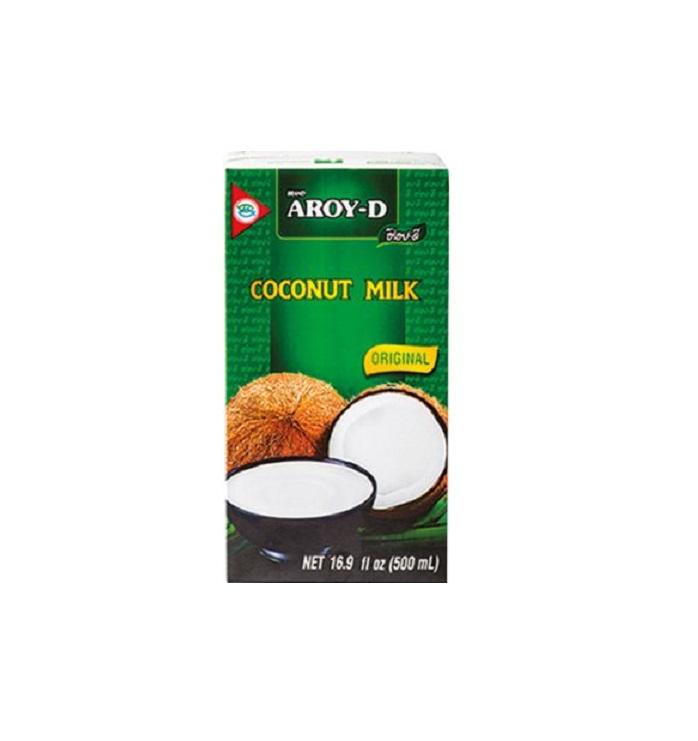 Kokosové mléko Aroy-D 18% 500 ml