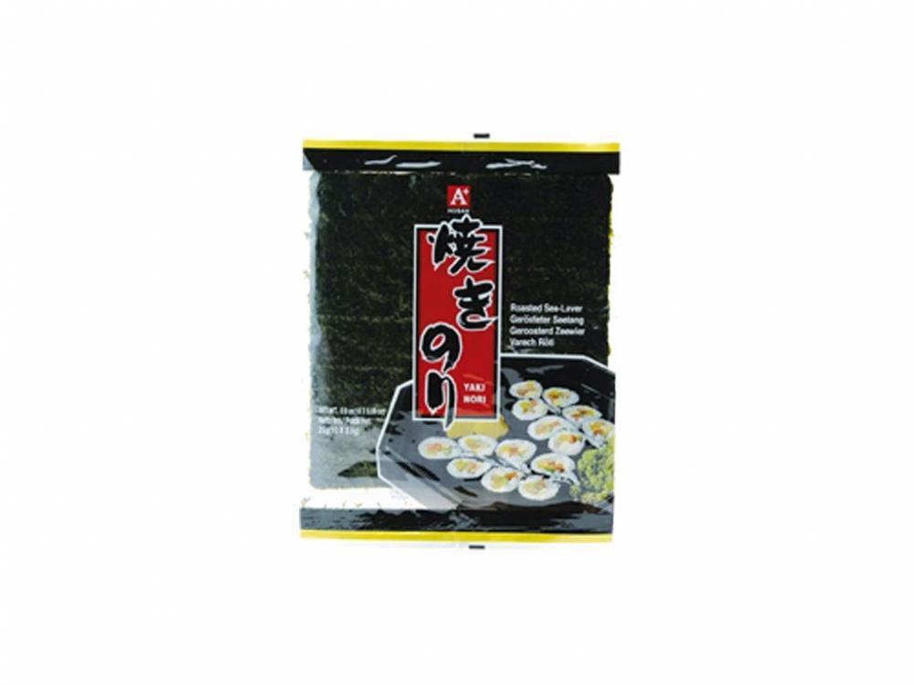 Řasy Yaki Nori na sushi 25 g
